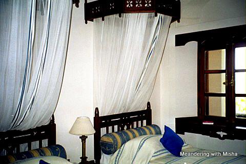 Our room at the Zanzibar Serena Inn, Stone Town, Zanzibar, Tanzania