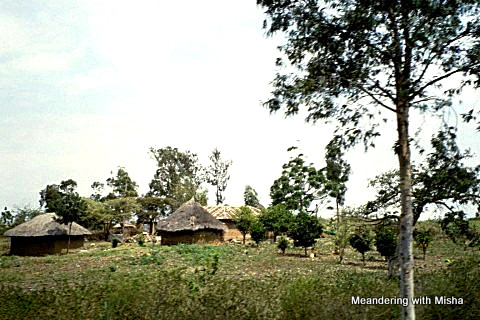 A village on the way to the Tanzania/Kenya border