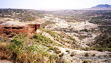 The Olduvai Gorge...where the Leakey's found Lucy