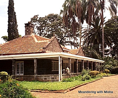 Karen Blixen (Out of Africa) home on the outskirts of Nairobi, Kenya
