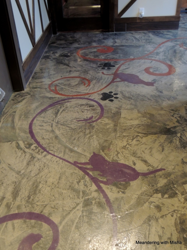 More of the floor decorations
